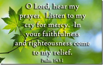 Psalm-143-1
